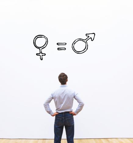 Hombres miopes sobre igualdad